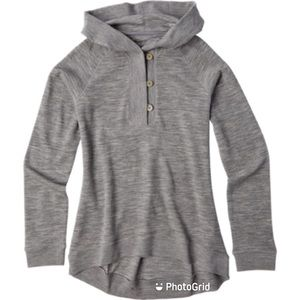 Icebreaker XS Crave Hooded Sweater merino wool